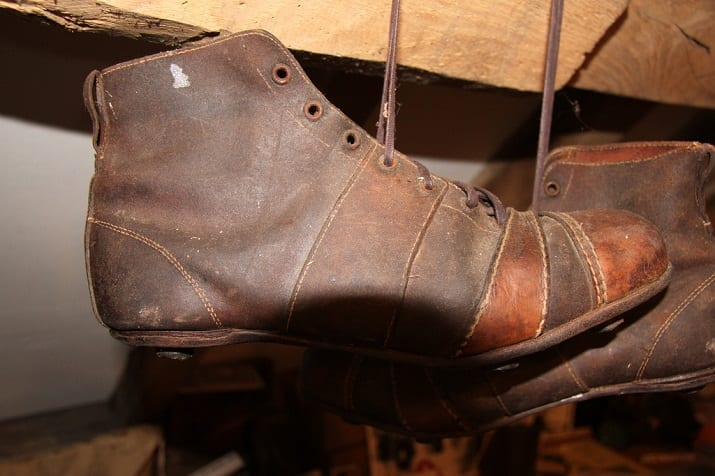 Old Leather Rugby League Boots