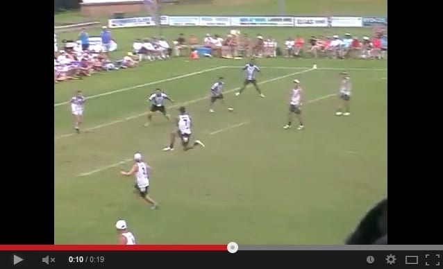 Benji marshall touch football footwork