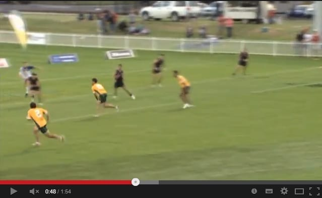 Touch Football Trans Tasman series