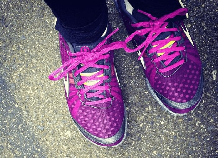 Bright New Running Shoes