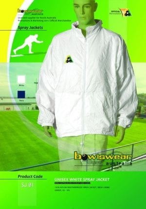 Unisex Bowlswear Aust. spray jacket