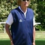 Ladies Domino sarah navy vest