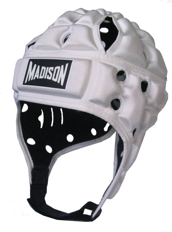 Madison Air Flo Headgear White Rugby League Buy Online