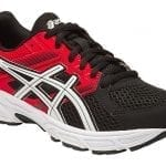 asics contend black side