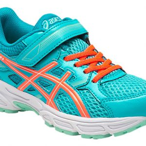 asics pre contend blue side