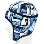 madison graffiti headgear blue