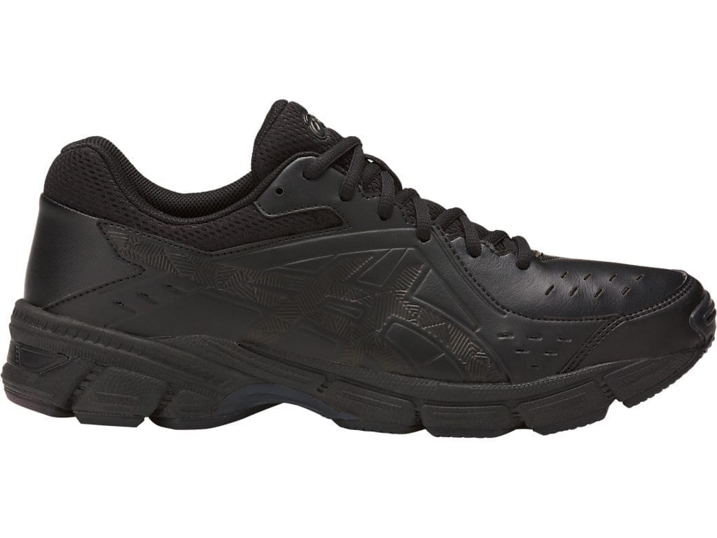 Asics Gel 195TR leather 2E mens shoes (Black) dd12284325b2