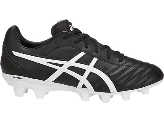 all black asics footy boots