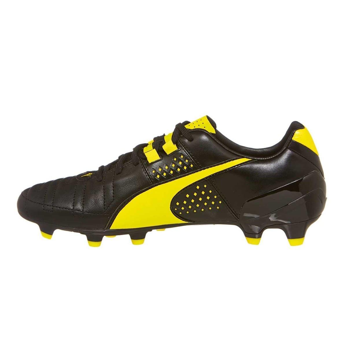 pas cher pour réduction 6b5fd a80df Puma Spirit II FG boots (Black/Yellow)