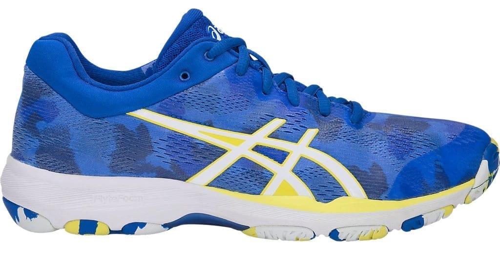 Asics Gel Netburner Professional FF ladies shoes (Imperial Blue/White)