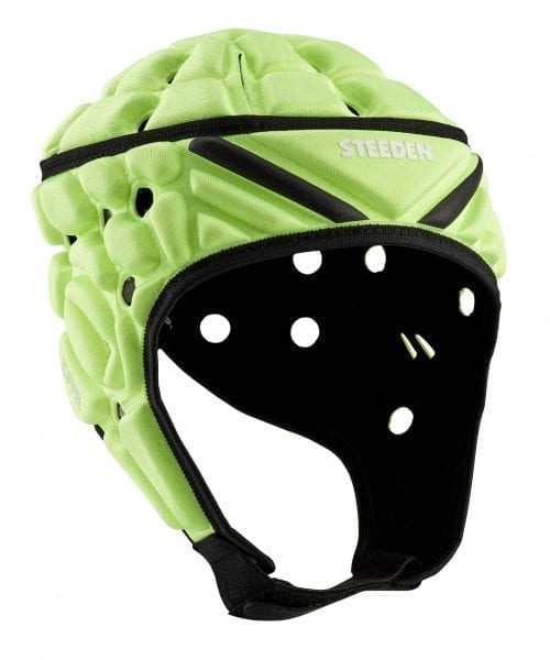 Steeden Super Lite Headgear Lime Rugby League Protective