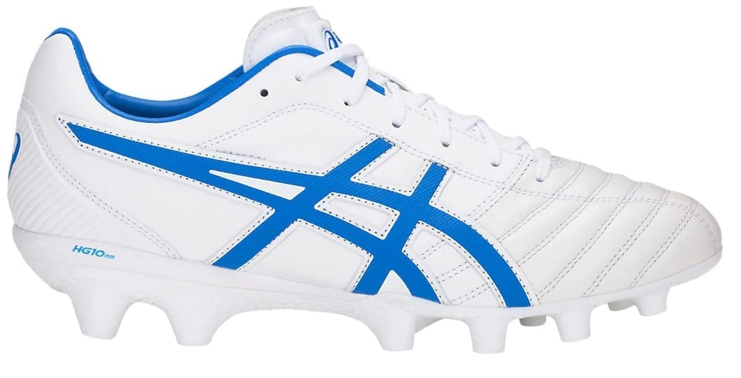 new high good texture fair price Asics Lethal Flash IT boots (White/Blue)