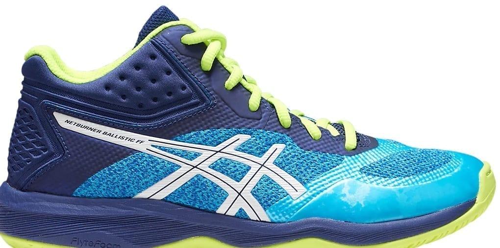 revendeur d8364 138aa Asics Gel Netburner Ballistic FF MT ladies shoes (Aquarium/White)