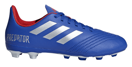 quality products competitive price great deals 2017 Adidas Predator 19.4 FG Junior Boots (Blue/Silver/Red)
