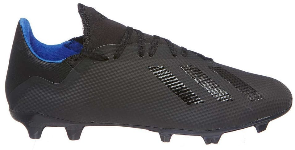 9c6d051e157 adidas x 18.3 fg boots black blue