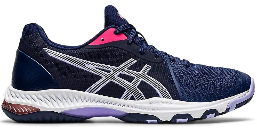 Asics Netburner Ballistic FF 2 shoes (Peacoat/Vapour)